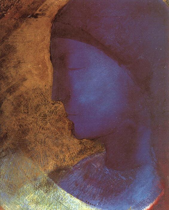 Odilon Redon The Golden Cell France oil painting art